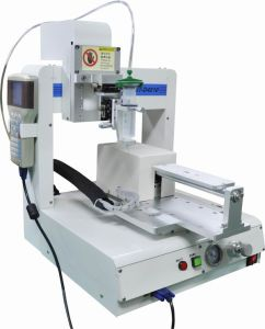 4 Axis Automatic Benchotop Dispensing Robot Epoxy Resin Industrial Glue Dispenser Machinery