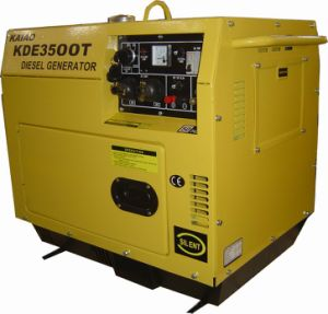 Silent Diesel Generator for Home Use (KDE3500T) Generator