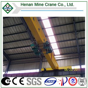Low Headroom Electric Overhead Traveling Crane Hoist pictures & photos