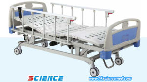 Five Functions ICU Electric Hospital Bed with UPS pictures & photos