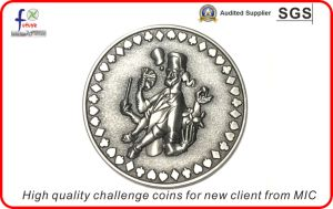 High Quality Challenge Coins for New Client From Mic
