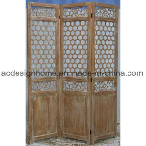 Ancient China Style Hot Ing Por 3 Panel Hexagonal Wooden Screen Room Dividers