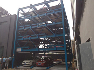 Puzzle Parking System 5 Tier