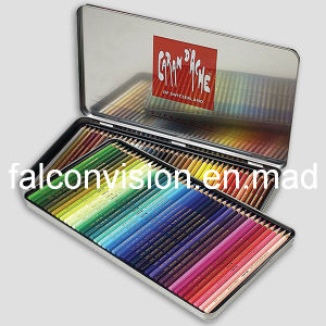 Coloured Pencil Crayons Hinged Metal Tin Case Gift Boxes (FV-051002) pictures & photos