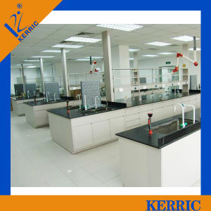 Laboratory Galvanized Steel Table and Bench with Sink and Faucet