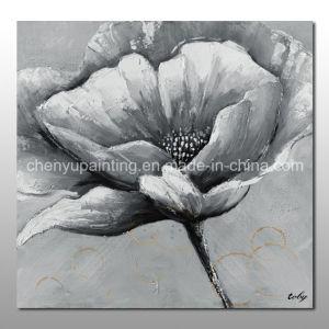 China handmade large white flower oil painting china oil painting handmade large white flower oil painting mightylinksfo