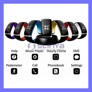 Bluetooth Wristband Calories Pedometer Portable Sport LED Watch Mobile Phone Bracelet Anti-Lost Smart Watch Phone pictures & photos