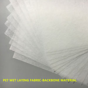 Air Filter Backbone Material Pet Wet-Laying Nonwoven Fabric pictures & photos