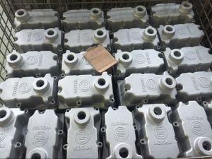Motor Housing Engine Weichai Aluminum Die Casting Auto Parts pictures & photos