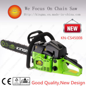 "45cc Gasoline Chain Saw with Easy Starter and 18"" Oregon Bar and Chain (KN-CS4500B)"