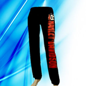 100% Cotton Lady′s Discharge Print Lounge Pants pictures & photos