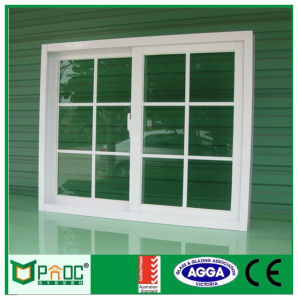 China Pnoc080405ls Australian Standard Sliding Window With Grill