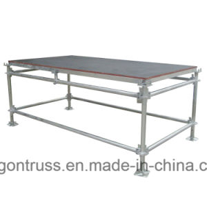 Portable Steel Stage Platform, Used Portable Stage for Sale pictures & photos