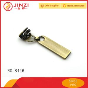High End Hardware Accessories Metal Zipper Puller for Handbag pictures & photos