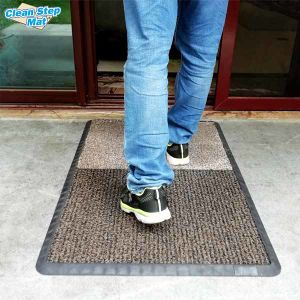 Mat with PVC Coil Entrance Door