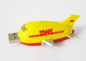 8GB 16GB 32 GB 64giga USB 2.0 Flash Drive Plastic Plane Aircraft Memory Stick Flash Pen Drive pictures & photos