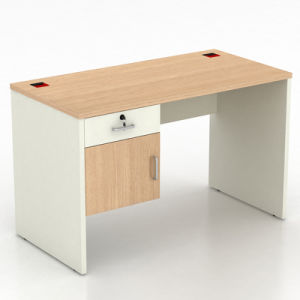 Modern Mfc Modular Staff Office Desk With Drawers