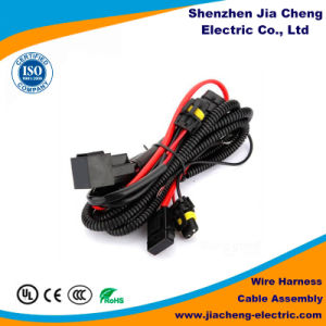china car lemo headlight relay wire harness china electrical wire rh jiacheng electric en made in china com Car Stereo Color Wiring Diagram Boss Car Stereo Wiring Harness