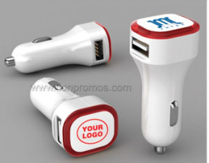 Custom Logo Promotional Gift Car Mobile Charger with USB Output pictures & photos