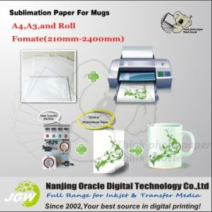 Heat Sublimation Transfer Paper A3, A4