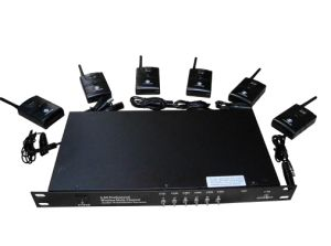Wireless Simultaneous Interpretation System 6 Channel Transmitter and Wireless Receiver pictures & photos