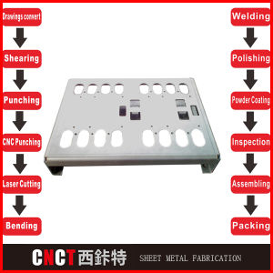 Sheet Metal Stamping Parts Sheet Metal Cutting and Bending pictures & photos