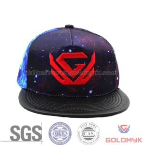 Custom Embroidered Heat Transfer Snapback Cap (GKA15-F00005) pictures & photos