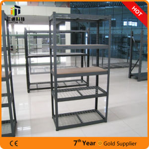 New Design Steel Shelf for Home Use, Steel Storage Rack with Wire Mesh, Garage Storage Rack pictures & photos