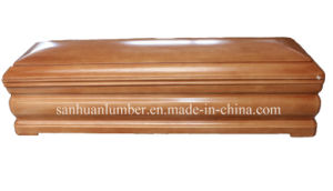 Funeral Product /Wooden Coffins&Casket /New Model Euro-Style Wooden Coffin pictures & photos