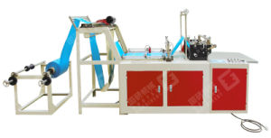 High Speed Plastic Bag Making Machine (stand-up zipper pouch with gusset)