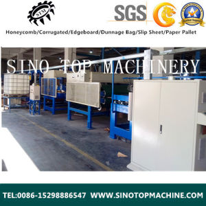 European Style Vertical Corrugated Board Production Line pictures & photos