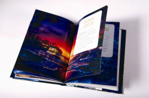 Hardcover Book Printing/Case Bound Book Printing (QCHB-55)