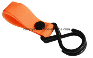 ABS Material Double Stroller Hook for Baby Stroller