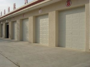 Electrical Garage Door with Polyurethane Foam pictures & photos