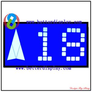 Htn LCD Monitor Blue Negative Screen LCD Display Module pictures & photos