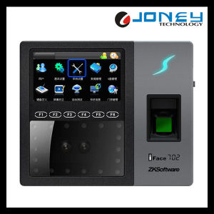 4.3 Inch Touch Screen Muti-Biometric Fingerprint Face Recognition Access Control Time Attendance Machine with WiFi GPRS pictures & photos