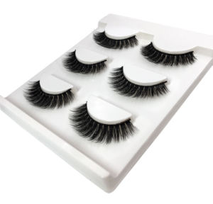 d519a947e94 3 Pairs Natural False Eyelashes Thick Makeup Real 3D Mink Lashes Eyelash  Extension Non Magnetic Long