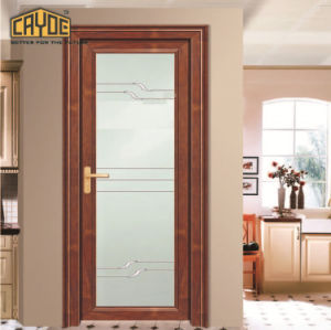 China New House Design Aluminium Folding Bathroom Door Coated Front And Back Doors