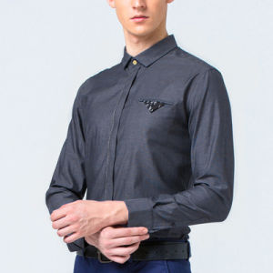 Men Long Sleeve Shirt for Mens Career Formal Shirts pictures & photos