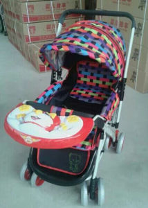 Baby Stroller Baby Carriage with Front Music Toy