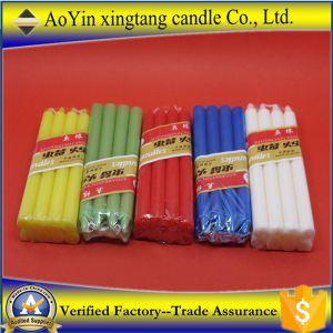 Wholesale 12g Paraffin Scented Color Candles to Mideast pictures & photos
