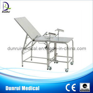 Hospital Stainless Steel Delivery Table (DR-206)