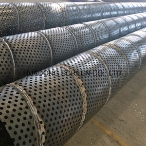 Oil Drill Stainless Steel Price Carbon Steel Perforated Filter Pipe pictures & photos