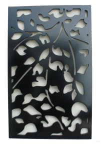 MDF Grille Decorative Panel (WY-4) pictures & photos