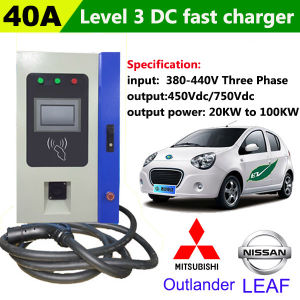 AC To DC Fast EV Charging Point For Nissan Leaf