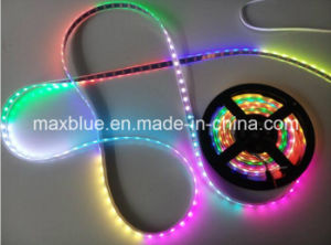 DC5V 30LEDs/M Ws2812b Built-in 5050 Magic LED Strip pictures & photos