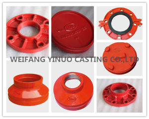 Standard Ductile Iron Grooved Eccentric Reducer with FM/UL Approval pictures & photos