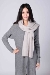 Ladies′ Fashion Cashmere Scarf in Pure Color (1500008080) pictures & photos