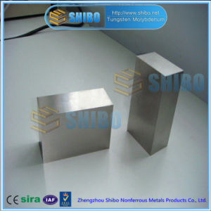 Factory Supply Pure Moly Plate / Molybdenum Plate with High Purity 99.95% pictures & photos