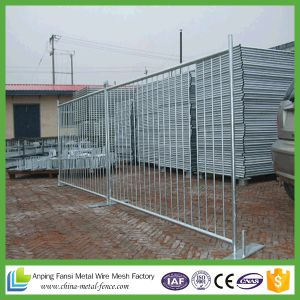 Flat Feet 3.0m Heavy Duty Materials Galvanized Crowd Control Barrier